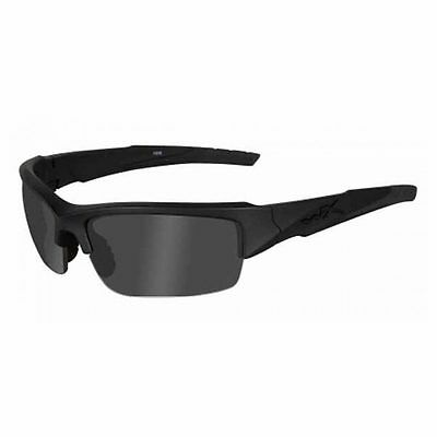 WILEY X WX Valor Changeable Sunglasses Black Ops Polarized Grey Lens Black Frame