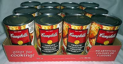 Campbells Tomato With Basil & Oregano Condensed Soup (12) Cans Canada / Canadian