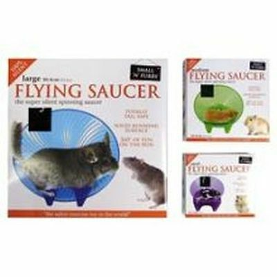 """Small 'N' Furry Flying Saucer Wheel Large 12"""" S02308"""