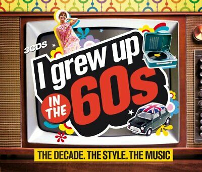 Various Artists - I Grew Up in the 60s - Various Artists CD 02VG The Cheap Fast
