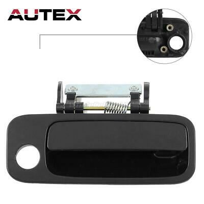 Black Outer Outside Front Right Passenger Door Handle For 2000-04 Toyota Avalon