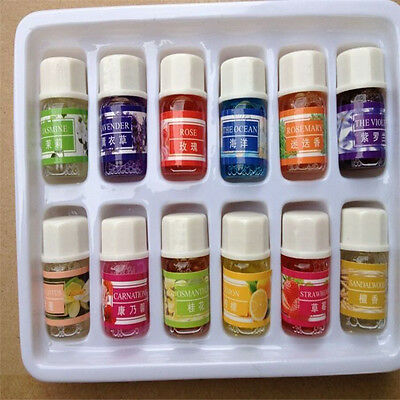 12 Smells 3ML/Box 100% Pure Aromatherapy Essential Oils Bath Massage Skin Care