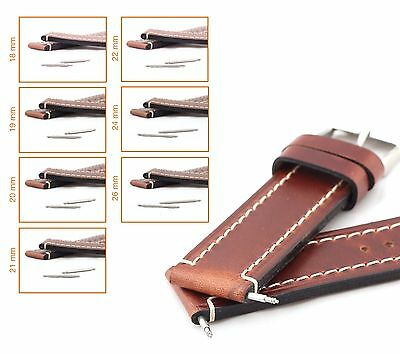 2 High-Quality Spring Bars/Pins for Watch Bands/Straps, 18-26 mm, new!
