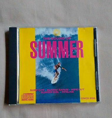 Rare The Sound Of Summer Various Artists CD Free Shipping