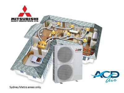 Mitsubishi Heavy Industries Inverter Duct Air Conditioner 14.0kW Supply +Install