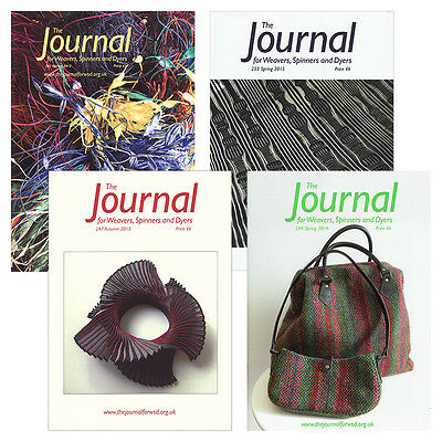The Journal for Weavers, Spinners and Dyers Magazine - Complete Year Collections