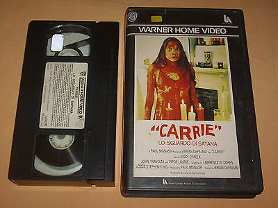 ( Vhs ) Carrie. Warner Home Video. Ottime Condizioni.