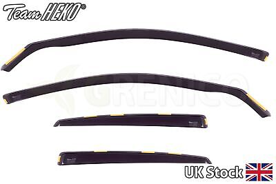 AUDI A4 B6/B7 4door saloon 2002-2009 wind deflectors 4pc HEKO TINTED