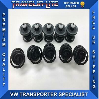 For VW T5 T5.1 T6 Door Card Panel Clips Genuine X10 Best Quality Brand New