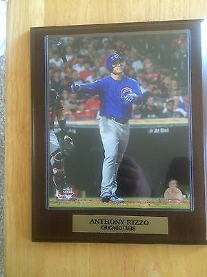 11x14 Sports Plaque Anthony Rizzo Chicago Cubs