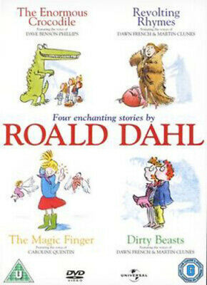 Roald Dahl: Four Stories DVD (2006) cert U Highly Rated eBay Seller Great Prices