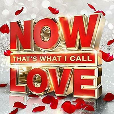 Various Artists - NOW That's What I Call Love - Various Artists CD JLVG The