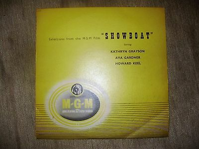 """1952 10"""" Vinyl - Selections From The MGM Film Show Boat"""