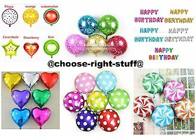 "Large 16"" 32"" FOIL PLAIN BALONS BALLONS helium BALLOONS Quality Birthday Wedding"