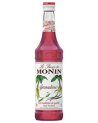 Monin Grenadine Syrup 700mL Mixers