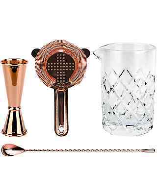 Cocktail Kit Old Fashioned Bar Kit - Copper Plated