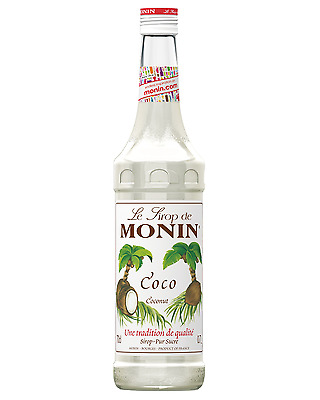 Monin Coconut Syrup 700mL Mixers