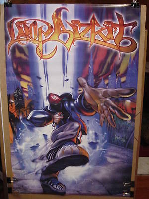 """LIMP BIZKIT- SIGNIFICANT OTHERS LP PROMO POSTER 1999 24 x 35"""" RARE OUT OF PRINT"""