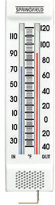 TAYLOR PRECISION PRODUCTS - 9-1/4-Inch Indoor/Outdoor Thermometer