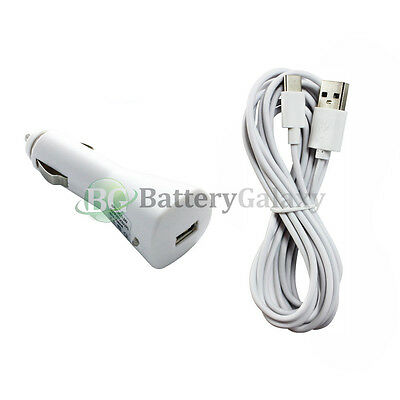 10FT USB Type C Cable+Car Charger for Phone Motorola Moto Z Force /Z Play Droid
