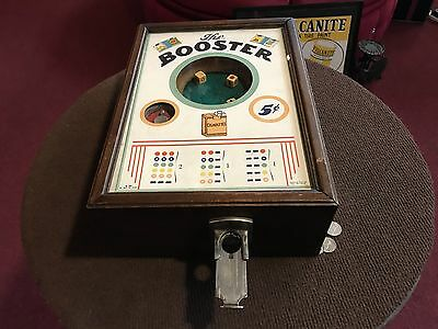 "1930's G.F. Hochriem THE BOOSTER  Dice Cigarette Trade Stimulator ""Watch Video"""