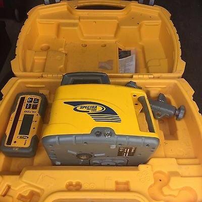 Spectra Precision LL400 self leveling laser level with receiver