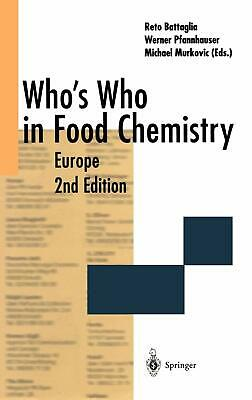 Who's Who in Food Chemistry: Europe by