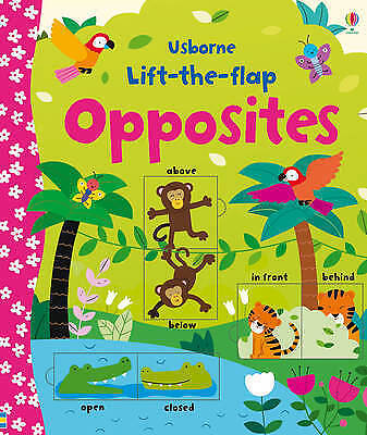 Lift-the-Flap Opposites,New Condition