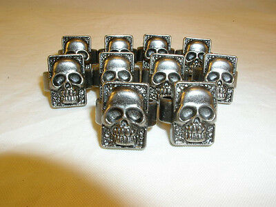 10 Phantom Skull Rings From The 1996 Movie - Free Ship