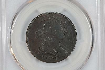 1803 Draped Bust Large Cent 1C Pcgs Genuine Vf Details