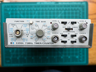 HP 5308a frequency counter module timer