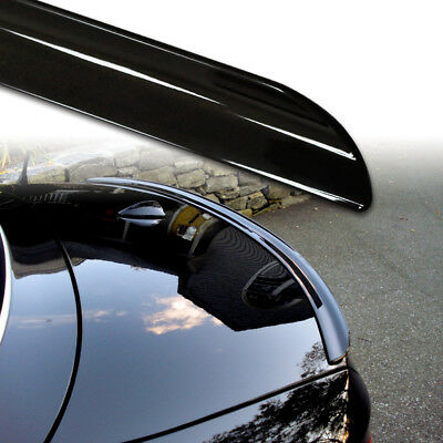 * Painted Black For Holden Commodore VE Sedan 4 06-13 Trunk Lip Spoiler R Type