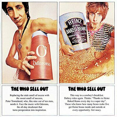 The Who - The Who Sell Out - The Who CD 4QVG The Cheap Fast Free Post The Cheap