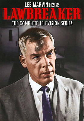 LEE MARVIN PRESENTS LAWBREAKER COMPLETE TELEVISION SERIES New Sealed 4 DVD Set