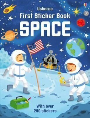 First Sticker Book Space by Sam Smith 9781409582526 (Paperback, 2015)