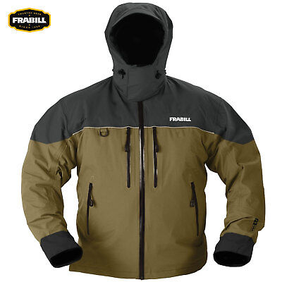 Frabill F3 Gale Jacket (M)- Brown