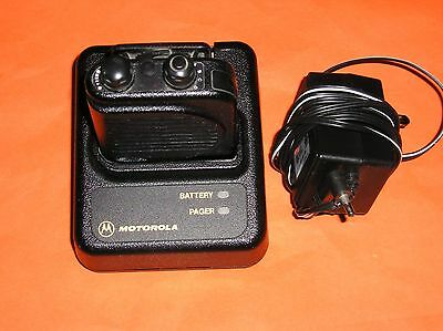 Motorola Minitor 3 lll vhf two channel  store voice pager W CHARGER,