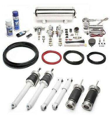 TA-Technix Air suspension Smart Fortwo Roadster FRONT & REAR Air producing kit