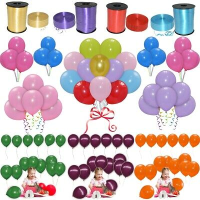 30 X Large PLAIN BALOONS BALLONS helium all Quality Party Birthday Wedding balon