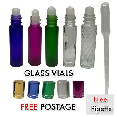 Sample Vial Strong Glass 1Ml 2Ml 3Ml Empty Glass Vials With Cap Refillable Glass