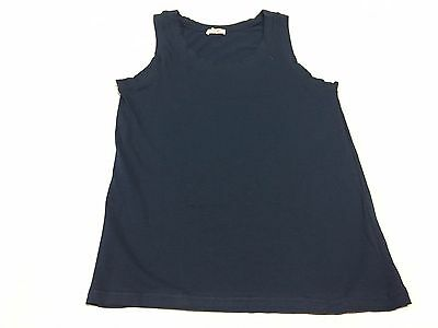 CAGI 1925 tank top man wide shoulder blue mod 1170 92% cotton MADE IN ITALY
