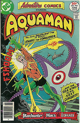 Adventure Comics #451 (DC Comics, June 1977) Aquaman 9.0 VF/NM