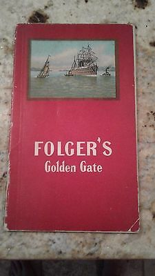 folgers coffee golden gate booklet