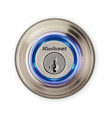 Kwikset Kevo Smart Lock Touch-to-Open Bluetooth Home Door Deadbolt iOS (2nd Gen)