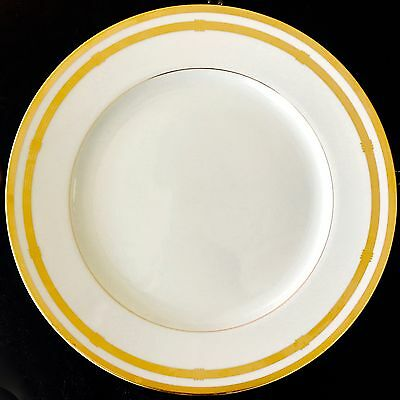 Dinner Plate in Gaudron White by Christian Dior (10 7/8 in)