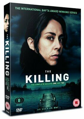 The Killing - Series 1 and 2 [DVD] - DVD  5MVG The Cheap Fast Free Post