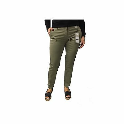 ASPESI women's trousers mod H105 military 98% cotton 2% elastane