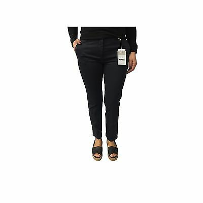 ASPESI women's trousers mod H105 blue 98% cotton 2% elastane