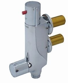 Static Caravan V100 Vertical Thermostatic Shower Mixer Valve - SH030