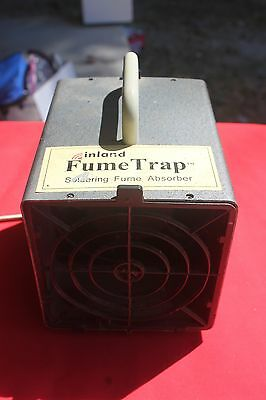 Inland Fume Trap for Stained Glass Work